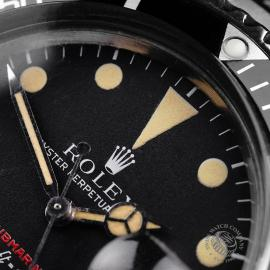 RO823F Rolex Vintage Submariner Date 'Single Red' Close3