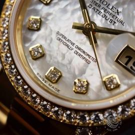 RO21016S Rolex Ladies Datejust 18ct Close6 1