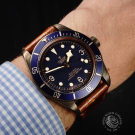 TU21992S Tudor Heritage Black Bay Bronze 'Bucherer Edition' Wrist