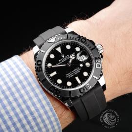 RO1940P Rolex Yacht-Master 42 Unworn Wrist