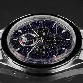 OM22648S Omega Speedmaster Moonphase Chronograph Close6