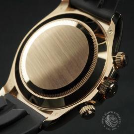 RO22580S Rolex Cosmograph Daytona 18ct Gold Cerachrom Unworn Close9