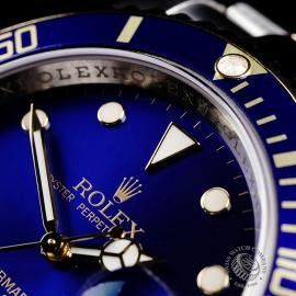 RO22203S Rolex Submariner Date Close 3