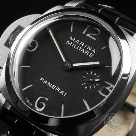 PA22568S Panerai Luminor Marina Militare 'Left Hand' Close2