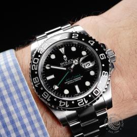 RO22118S Rolex GMT Master II Wrist
