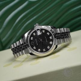 RO21505S Rolex Ladies Datejust Midsize Close11
