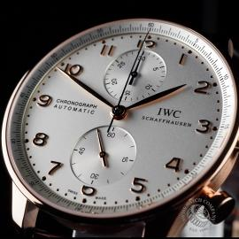 IW1888P IWC Portugieser Chronograph Close 2
