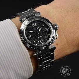 CA21322S Cartier Pasha GMT Wrist