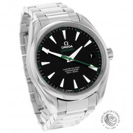 OM22415S Omega Seamaster Aqua Terra Golf Edition Dial
