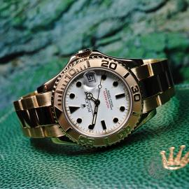 RO21757S Rolex Yacht-Master Mid size 18ct Close11