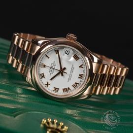 RO1852P Rolex Ladies Datejust 18ct Close111 2