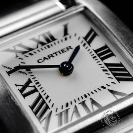 CA22133S Cartier Ladies Tank Francaise Small Model Close7