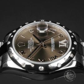 RO22610S Rolex Ladies Datejust Midsize Close8