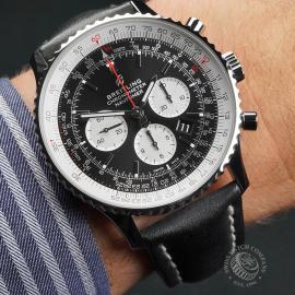 BR22725S Breitling Navitimer B01 Chronograph 46 Wrist