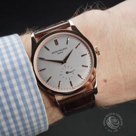 PK22445S Patek Philippe Calatrava Rose Gold Wrist