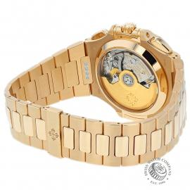 PK22578S Patek Philippe Nautilus Chronograph Rose Gold Back 1