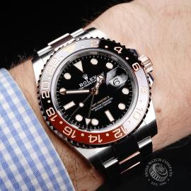 RO22299S Rolex GMT-Master II Unworn Wrist 1