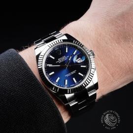 RO21703S Rolex Datejust 41 Wrist 1