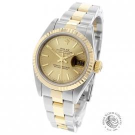 RO21690S Rolex Ladies Datejust Back