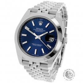 RO22342S Rolex Datejust 41 Unworn Back