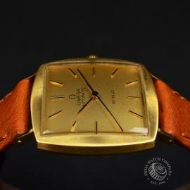 OM18522S Omega Vintage De Ville Automatic 18ct Close7