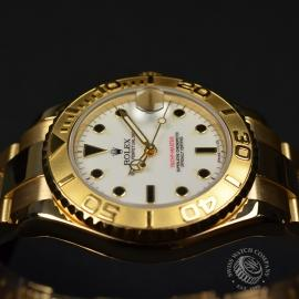 RO21031S Rolex Yachtmaster Mid Size 18ct Close9