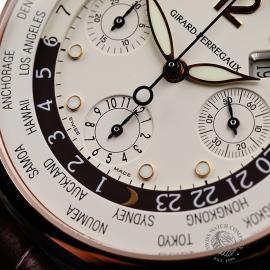 GP22191S Girard Perregaux World Time Chronograph 18ct Close4