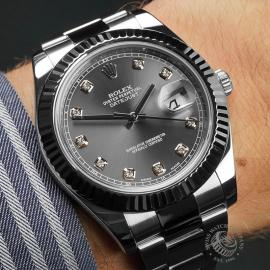 RO22644S Rolex Datejust II WRist