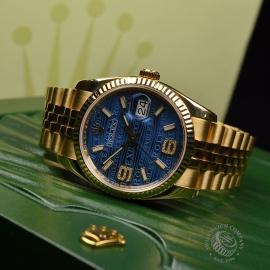 RO1816P Rolex Datejust 18ct Close18