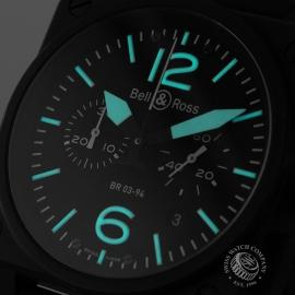 19798S Bell & Ross BR 03-94 Chronograph Close1 1