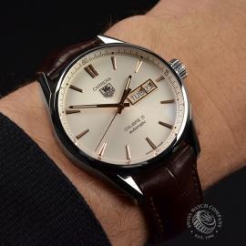 TA20800S Tag Heuer Carrera Calibre 5 Day Date  Wrist