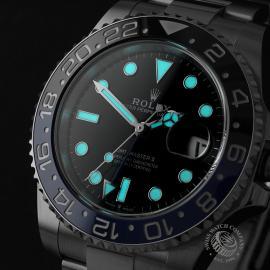 RO22681S Rolex GMT Master II 'Batman' Close1