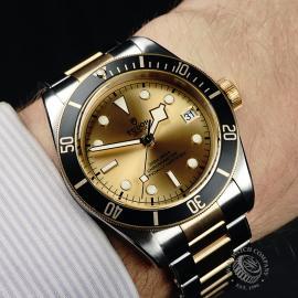Tudor Heritage Black Bay Wrist 1