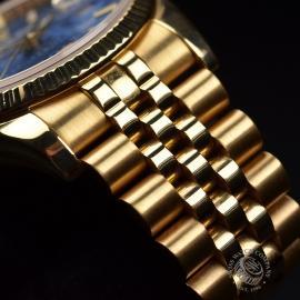 RO1816P Rolex Datejust 18ct Close3