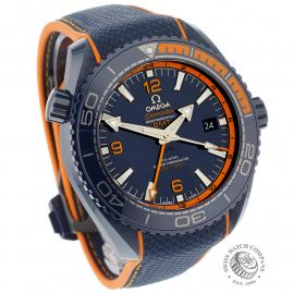 OM21772S Omega Seamaster Planet Ocean GMT 'Big Blue' Dial