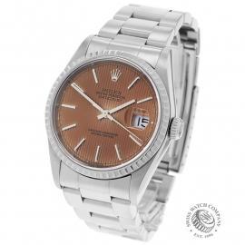 RO22684S Rolex Datejust 36 Back 2
