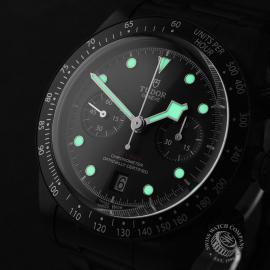 TU22227S Tudor Heritage Black Bay Chronograph Dark Close1