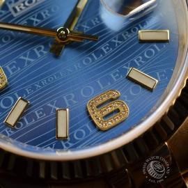 RO1816P Rolex Datejust 18ct Close8 1