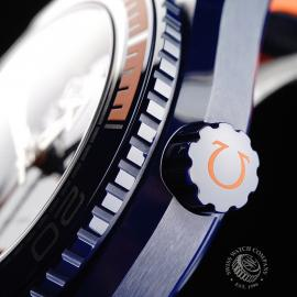 OM21772S Omega Seamaster Planet Ocean GMT 'Big Blue' Close7
