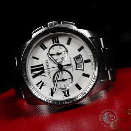 CA22200S Cartier Calibre de Cartier Chronograph Close2