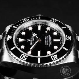 RO21836S Rolex Submariner Non Date Ceramic Close7