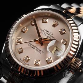 RO22737S Rolex Ladies Datejust Close3