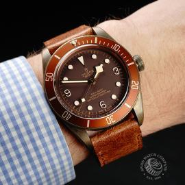 TU22225S Tudor Heritage Black Bay Bronze Wrist