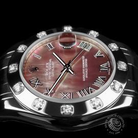 RO22303S Rolex Ladies Pearlmaster Close 6