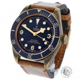 TU21992S Tudor Heritage Black Bay Bronze 'Bucherer Edition' Back