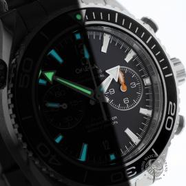 OM20307S Omega Seamaster Planet Ocean 600m Co Axial Chrono Close1