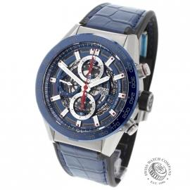 TA21664S Tag Heuer Carrera Calibre 01 Chronograph Back