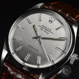 21473S Rolex Vintage Air King Close2