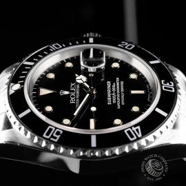 RO21827S Rolex Submariner Date Transitional Close 6