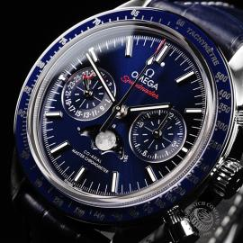 OM1923P Omega Speedmaster Moonphase Co-Axial Close2